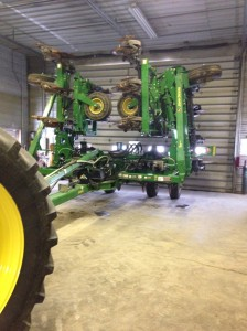 Our 2510H in the shop, getting ready for spring.