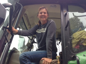 Rhoda has been a busy lady, especially on corn harvesting days... following 2 12-row combines!
