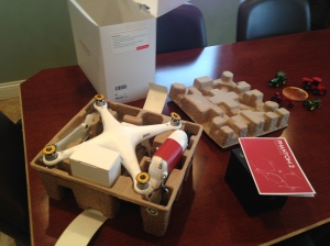 Beginning to unpack the Phantom 2