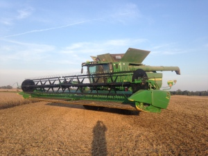 The S680 ran well today.  See the fair weather sky?  A beautiful day in southwest Indiana.