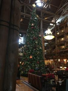 The tree and decorations made our stay at Wilderness Lodge even more spectacular!