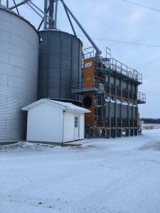 There is snow at Carnahan & Sons today!